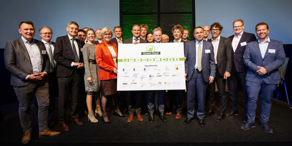 Energie-Nederland steunt Green Deal Aquathermie